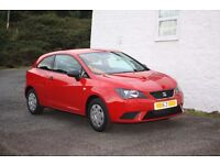 2013(sept 63 plate) SEAT Ibiza 1.2E 3dr, 15500 miles, exc cond, full serv history, 1 yr MOT £5500