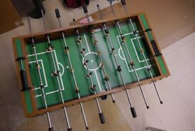 Foosball Table - This superior quality table will provide hours of fun for family and friends