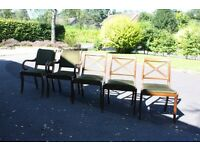 Set of 1950's Retro Dining Chairs