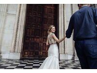Documentary style wedding photography