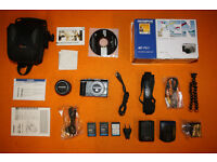 Olympus Epl1 digital camera with kit lens and accessories