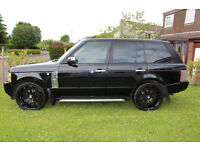 2006 LAND ROVER RANGEROVER TD6 VOGUE AUTO BLACK
