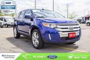 2013 Ford Edge SEL  FORD CERTIFIED LOW RATES & EXTRA WARRANTY