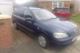 vauxhaul astra van 1.6 petrol good condition, very reliable, numerous new parts