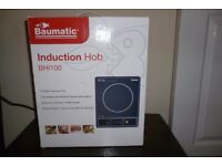 BAUMATIC PORTABLE INDUCTION HOB BHI100 NEW IN BOX