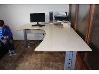 Large Office Desk, Business desk, Home Computer desk