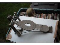 ASBA vintage single bass drum pedal - France '70s