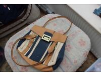 Fiorelli bag for sale, light brown with blue