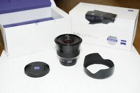 Zeiss Batis 18mm f2.8 FE Full frame lens