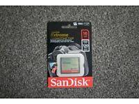 SanDisk 16GB CF Card 800X Speed Memory Card Storage (Brand New)