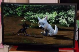 """Toshiba 40"""" Inch Full HD LED TV 1080p, 2 X USB, 3 x HDMI, Built in Freeview"""