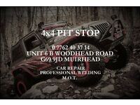 4x4PIT STOP: MOT, Car Repair, Rebuild, Welding, Panel Fabrication, Classic Car Restoration