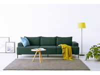 3 Seater Sofa by MADE, brand new