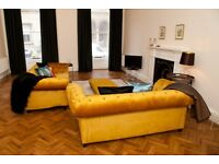 Short Term Lets - Luxurious One Bedroom Flat near Haymarket with parking (425)