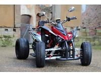 NEW 2017 250CC RED ROAD LEGAL QUAD BIKE ASSEMBLED IN UK 17 PLATE OUT NOW! CAN DELIVER