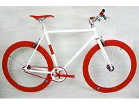 Brand new NOLOGO Aluminium single speed fixed gear fixie bike/ road bike/ bicycles qq4
