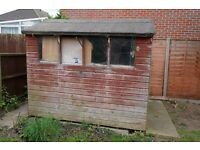 Free garden shed 8 x 4 - Collection Only