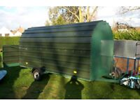 Covered TRAILER for sale - large trailer suitable for general use