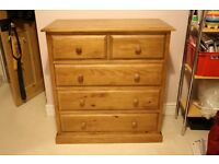 *NEW* Langley Pine 2 over 3 Chest Of Drawers, RRP £249 *NEW*