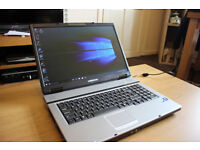 MEDION GAMING LAPTOP INTEL DUAL CORE 2.10Ghz CPU 4GB RAM 160GB HDD, NEW CHARGER OFFICE 2016 PRO