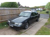 classic volvo960 2.4 ltre in graphite grey , 93000 miles from new .