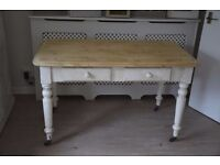 Shabby Chic Painted Side Dressing Hall Kitchen Table