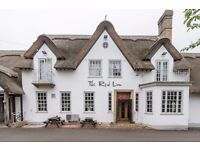 Front of house staff wanted for busy, bussling, fun Pub, just on the outskirts of Cambridge!