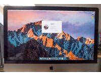 "Apple iMac 27"" - Original packaging with RAM upgraded to 12GB - macOS High Sierra"