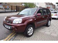 2004 Nissan X-Trail 2.0 SE Petrol 4x4 Still Runs/Drives *** NOISY CAMSHAFT *** for spares or parts