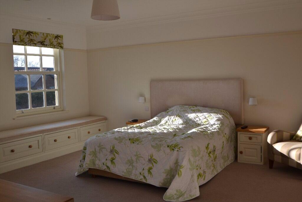 BEDROOM furniture - luxury, handmade, solid wood with oak worktops