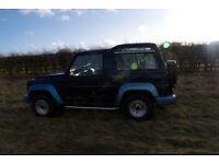 Daihatsu fourtrak 2.8 tdx independent