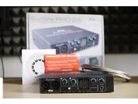 Focusrite Saffire Pro 24 - Audio Interface - Firewire - Comes in box