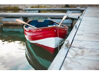 10 FT ROWING BOAT & TRAILER