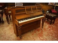 English antique upright decorative piano - UK delivery available + Europe / World Wide shipping