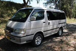 1999 Toyota Hiace Super Custom Van Glenbrook Blue Mountains Preview