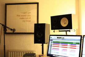 Recording Studio, Mixing and Mastering in Dalston, East London