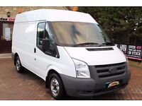 WANTED Low Mileage Ford Transit Van SWB High Roof 2008-2010 Cash Waiting - private Buyer