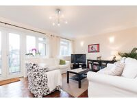 An attractive and well presented 2 double bedroom flat with balcony