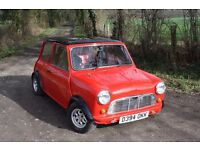 Classic Mini City E, highly modified from standard
