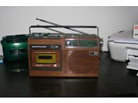 VINTAGE NATIONAL PANASONIC 443 RADIO CASSETTE PLAYER