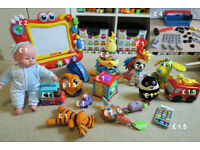 Bundle of Baby Toys ( £ 15 ; £ 7 or from £ 1 each )