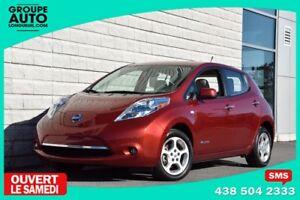 2012 Nissan Leaf *AUTOM*A/C*CAMERA*RECHARGE RAPIDE*BAS KILO*