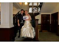Lovely ivory wedding dress size 12