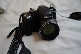 Nikon COOLPIX P510 with bag