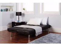***10 DAYS MONEY BACK GUARANTY ***WOW DEAL**CLICK CLACK 3SEATER SOFA BED ONLY FOR **£119**CALL NOW