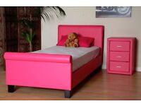 Brand New Hot pink Bed