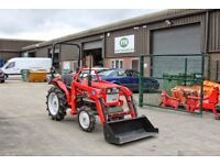 Yanmar YM1610D 4WD 20HP Compact Tractor With Front Loader