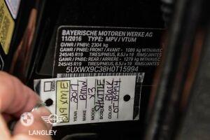 2017 BMW X3 xDrive28i Premium Package Enhanced!