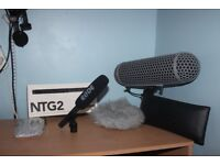 Rode NTG2 Audio Bundle
