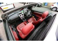 2007 Vauxhall Tigra 1.4 i 16v Exclusiv RED 2dr (a/c) Done 59,401 mileage